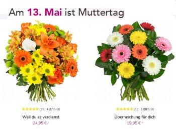 Exklusiv: 15 Prozent Rabatt auf alles bei Blumeideal zum Muttertag