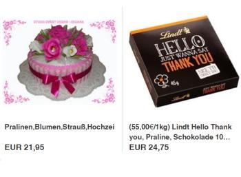Ebay: Muttertags-Spezial mit Schokoriegel-Torte und mehr
