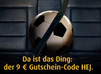 Mytaxi: 9 Euro WM-Rabatt bis Montag abend