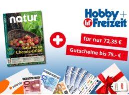 Natur: Jahresabo für 72,35 mit Gutscheinen über 75 Euro