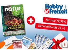 Natur: Jahresabo für 72,35 Euro mit Prämien über 75 Euro
