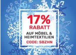 Neckermann: 17 Prozent Rabatt auf Möbel und Heimtextilien