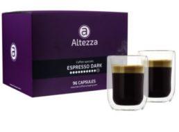 Kaffeevorteil: 96 Nespresso-Kapseln mit 2 Thermogläsern für 19,99 Euro