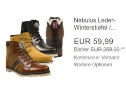 Nebulus: Leder-Winterstiefel für 59,99 Euro frei Haus