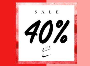 Nike: Sale mit 40 Prozent Rabatt ohne Mindestbestellwert bei My-Sportswear