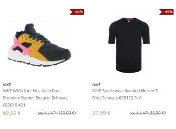 Outlet46: Nike-Sale mit 300 Artikeln ab 7,99 Euro