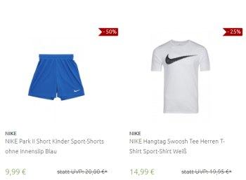 Outlet46: Nike-Sale mit 149 Markenklamotten ab 9,99 Euro