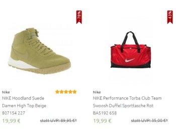Nike: Sale bei Outlet46 mit Schnäppchen ab 9,99 Euro frei Haus