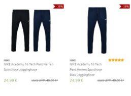 Nike: Sporthosen für 24,99 Euro frei Haus via Outlet46
