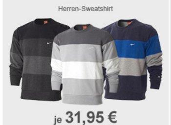 Allyouneed: Nike Herren-Sweatshirt für 31,95 Euro frei Haus