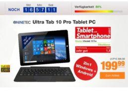 Plus: Convertible mit Windows und Android für 199,99 Euro frei Haus