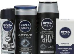 Nivea: Vierteiliges Pflegeset plus Handtuch für 9,99 Euro frei Haus