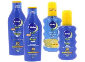 Nivea: Sonnenmilch für 3,99 Euro frei Haus bei Outlet46
