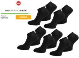 Dealclub: 20 Paar Sneaker-Socken von Normani für 14,95 Euro frei Haus