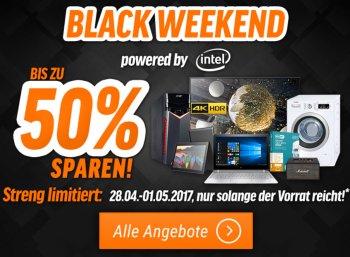 """Notebooksbilliger: Bis zu 50 Prozent Rabatt beim """"Black Weekend"""""""