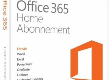 Office 365: Jahresversion für fünf Rechner zum Preis von 49,99 Euro