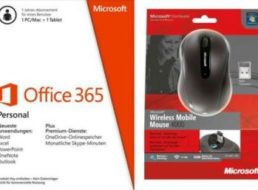 Ebay: Office 365 Personal Bundle mit Wireless Mouse für 39,99 Euro
