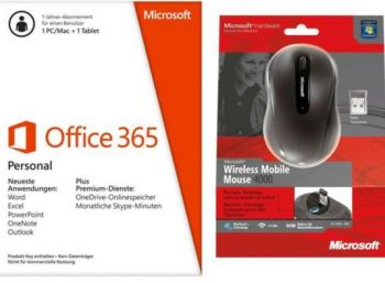 Office 365 Personal mit Maus