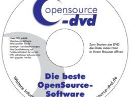 Opensource-DVD: Version 42 mit 590 kostenlosen Programmen steht zum Download