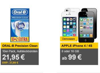 Allyouneed: Zehnerpack Oral-B Precision Clean Aufsteckbürsten für 21,95 Euro