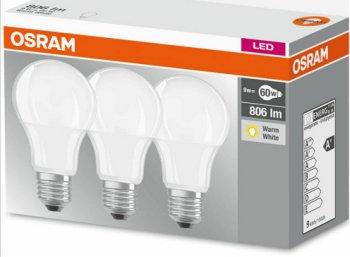 Dreierset LED-Birnen von Osram für 9,95 Euro frei Haus