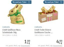 Rewe Paketservice: Osterartikel ohne Mindestbestellwert frei Haus