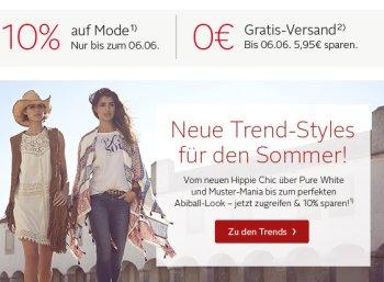 Otto: Mode-Rabatt von zehn Prozent bis Montag abend