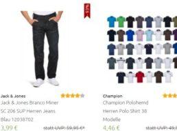 Outlet46: Flash-Sale mit Jeans ab 3,99 Euro und weiteren Schnäppchen