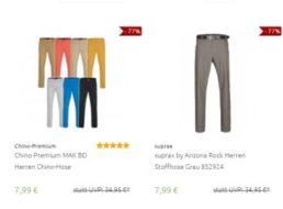 Outlet46: Marken-Jeans und -Chinos ab 7,99 Euro