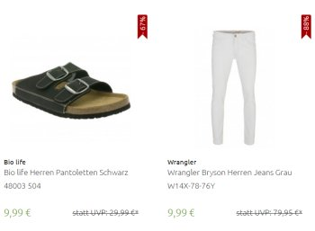 Outlet46: Flash-Sale mit 600 Artikeln ab 3,99 Euro frei Haus