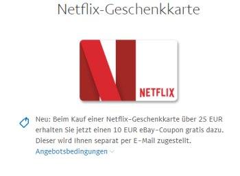 Gratis: Ebay-Gutschein über 10 Euro beim Kauf diverser Guthabenkarten