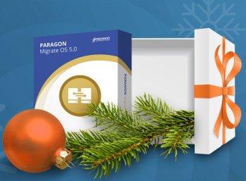 """Gratis: Vollversion """"Paragon Migrate OS 5"""" im Heise-Adventskalender"""