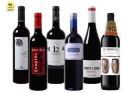 Weinvorteil: Parker-Probierpaket mit 90 Punkten für 39,99 Euro