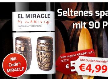 90 Parker Punkte: El Miracle by Mariscal für 4,99 Euro plus Versand