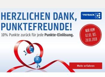 Rewe: Zehn Prozent Payback-Punkte beim Guthaben-Aufladen geschenkt