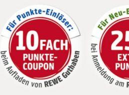 Rewe: Zehnfach Payback-Punkte bis zum 5. Februar 2017