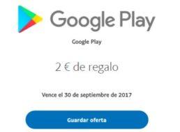 Gratis: Zwei Euro Guthaben für Google Play via Paypal