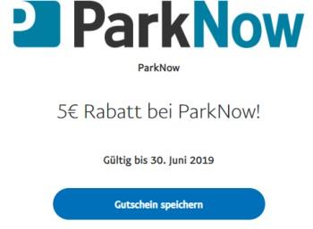 """Gratis: Fünf Euro Rabatt bei """"ParkNow"""" über Paypal"""