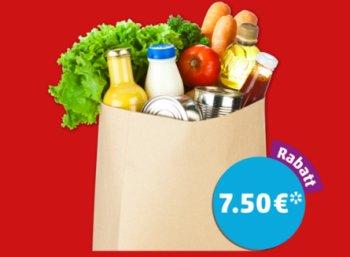 Penny: App-Rabatt von 7,50 Euro ab 60 Euro Einkaufswert
