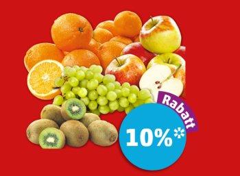 Penny: Zehn Prozent Rabatt auf frisches Obst bis Samstag