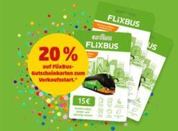 Penny: Flixbus-Guthabenkarten mit 20 Prozent Extra-Rabatt