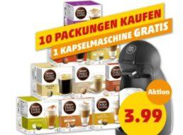 Gratis: Nescafé Dolce Gusto Piccolo beim Kauf von 10 Kapselpackungen