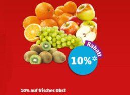 Penny: Zehn Prozent Obst-Rabatt via App bis Samstag