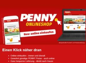 Penny: Onlineshop mit ausgewählten Aktionsangeboten gestartet