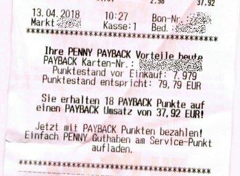 Penny: Payback-Partnerschaft hat begonnen, 0,5 Prozent Rabatt möglich