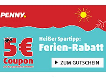 Penny-Gutschein über fünf Euro ab 40 Euro Einkaufswert