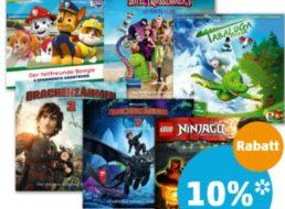 Penny: CD-Hörspiele für Kinder mit zehn Prozent App-Rabatt ab Donnerstag