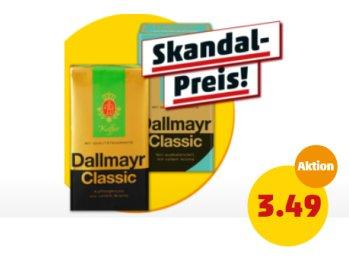 Penny: Dallmayr-Kaffee für eine Woche zu Schnäppchenpreisen