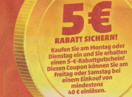 Wieder da: 5 Euro Rabatt bei Penny in dieser Woche
