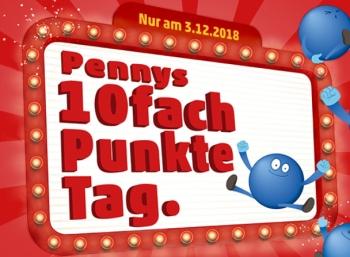 Penny: Zehnfach Payback-Punkte am 3. Dezember